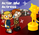 Actor and Actress costumes