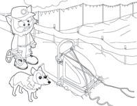 Dog Sled Racer
