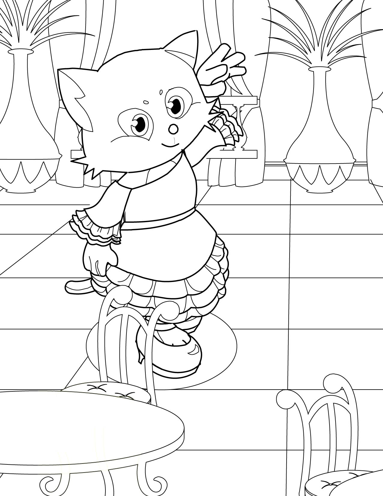 coloring pages flamenco dancers - photo#7
