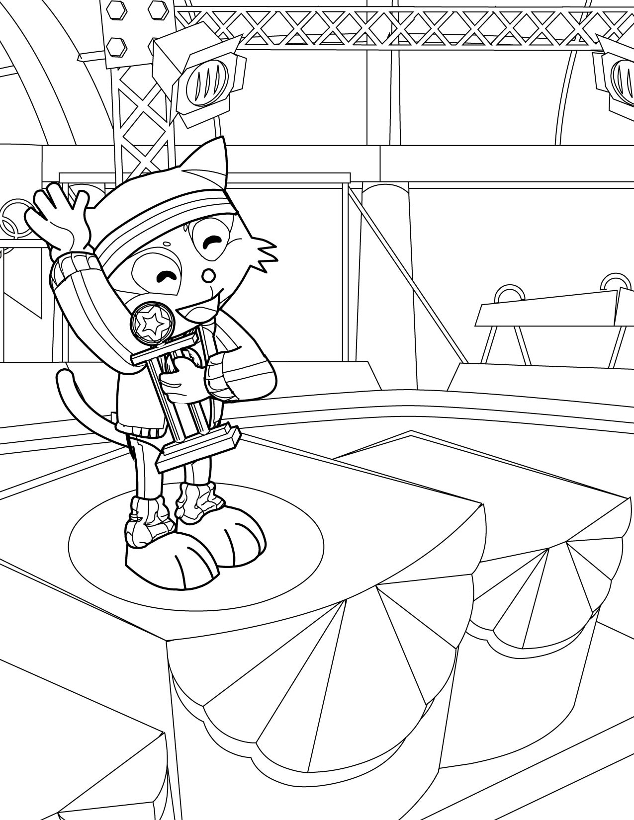 Coloring Pages Gymnastics Color Pages gymnast coloring pages eassume com page handipoints