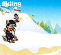 Skiing costumes
