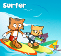 Surfer costumes