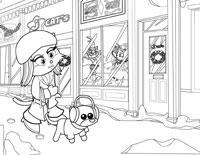 Winter Socialite