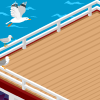 Ferry Boat Background