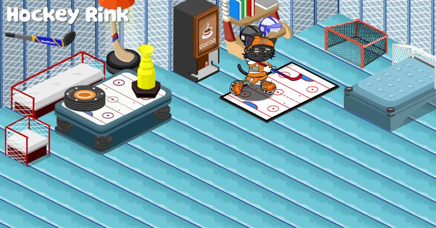 Hockey Rink Playhouse