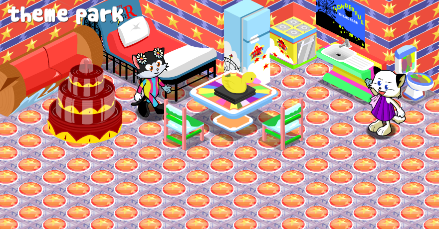 Theme Park Playhouse