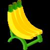 Banana Bunch Chair