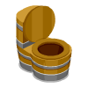 Barrel Toilet