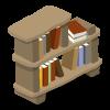 Caveman Bookshelf