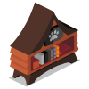 Doghouse Bookshelf