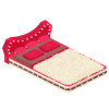 Gossip Queen Bed