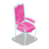Ice Princess Armchair