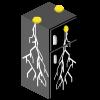 Lightning Storm Fridge