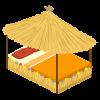 Luau Bed
