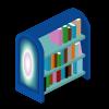Northern Lights Bookshelf