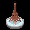 Paris Eiffel Tower Fountain