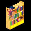 Party Bookshelf