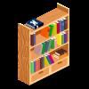 Pirate Bookshelf