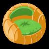 Pumpkin Patch Chair
