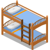 Summer Camp Bunk Bed