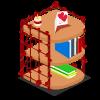 Valentine Bookshelf