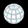 Northern Lights Disco Ball