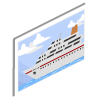 Ferry Boat Poster