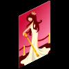Gossip Queen Poster