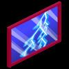 Lightning Storm Window
