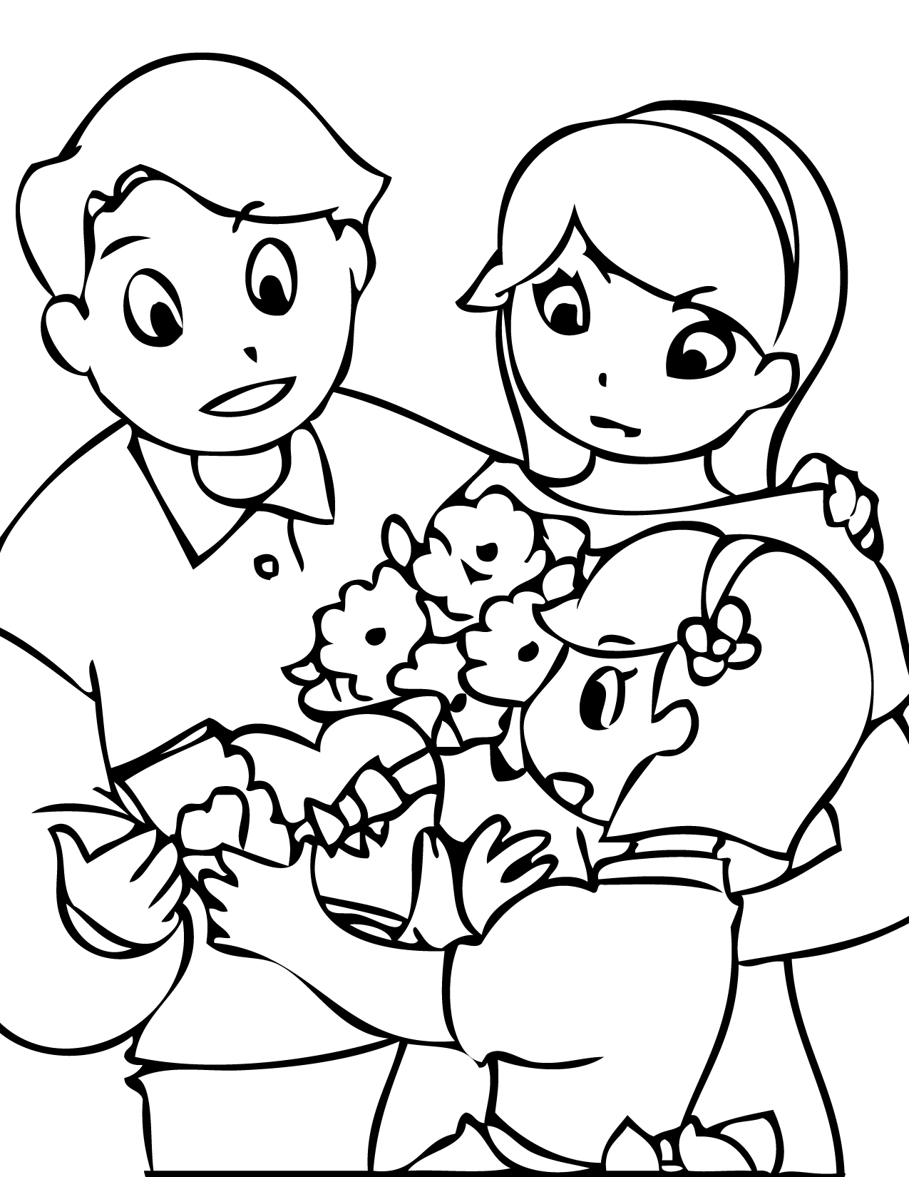 Valentine s Day Coloring Page Handipoints