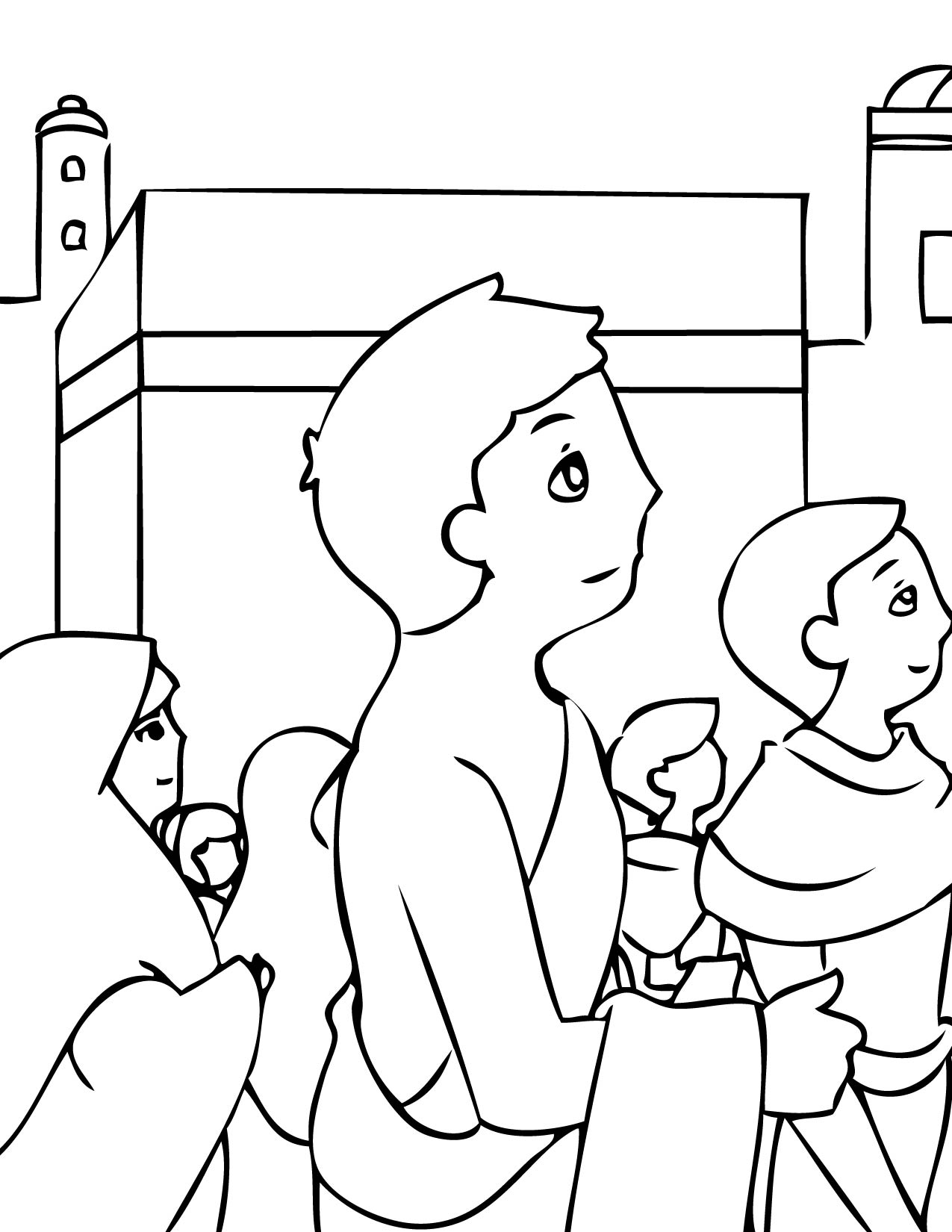 hajj coloring pages - photo #1