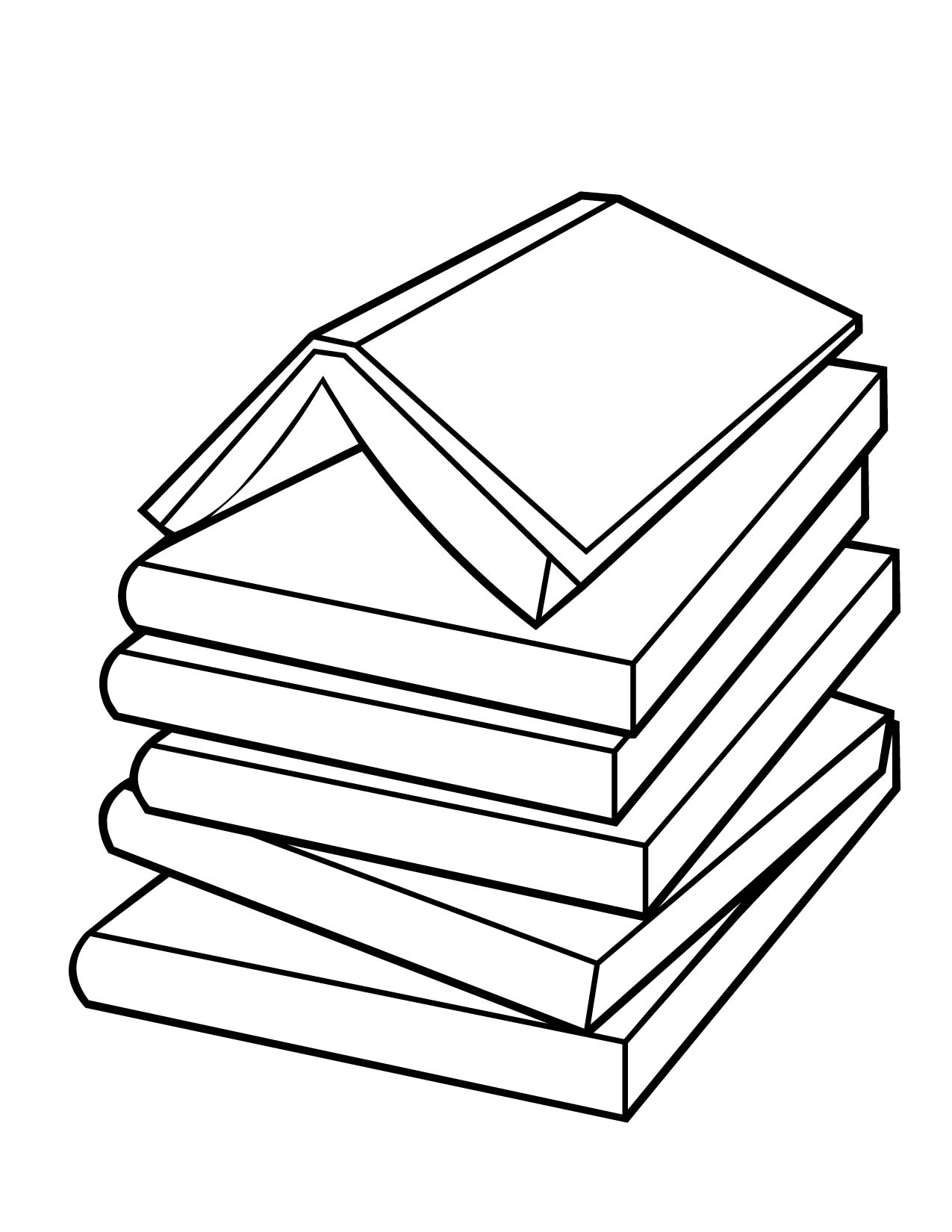 book coloring page handipoints - Color Book Pages