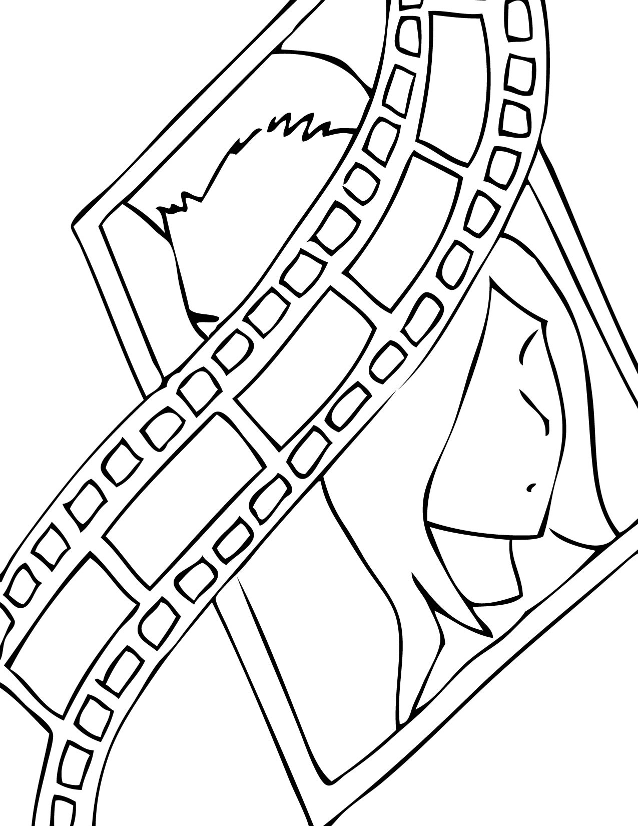 entertainment coloring pages handipoints