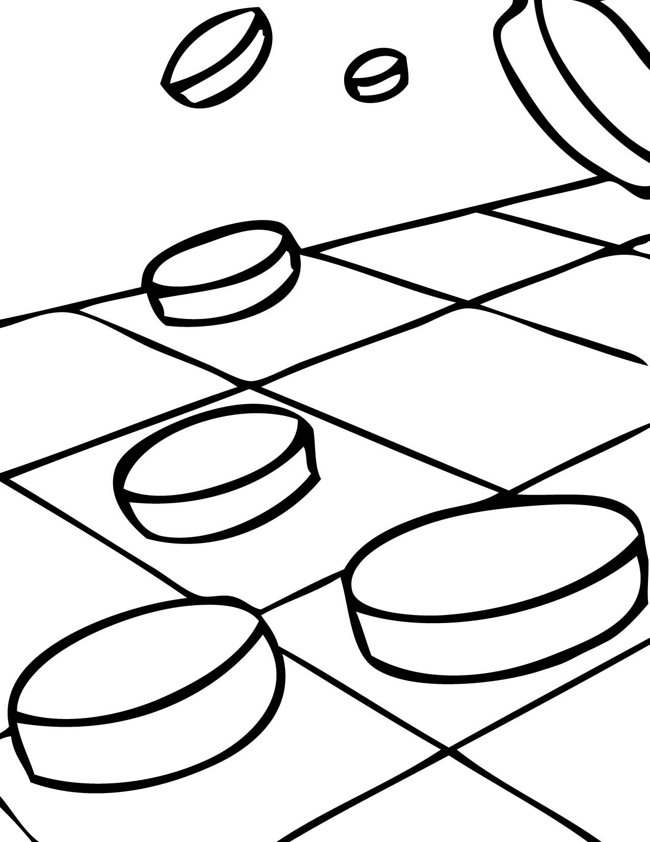 Checkers Coloring Page Handipoints