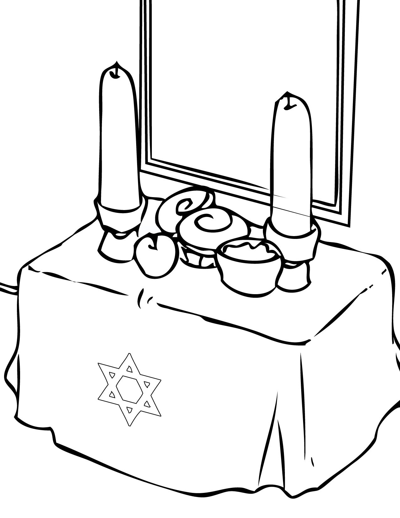 Uncategorized Torah Coloring Pages rosh hashanah coloring page handipoints jewish holidays pages hashanah