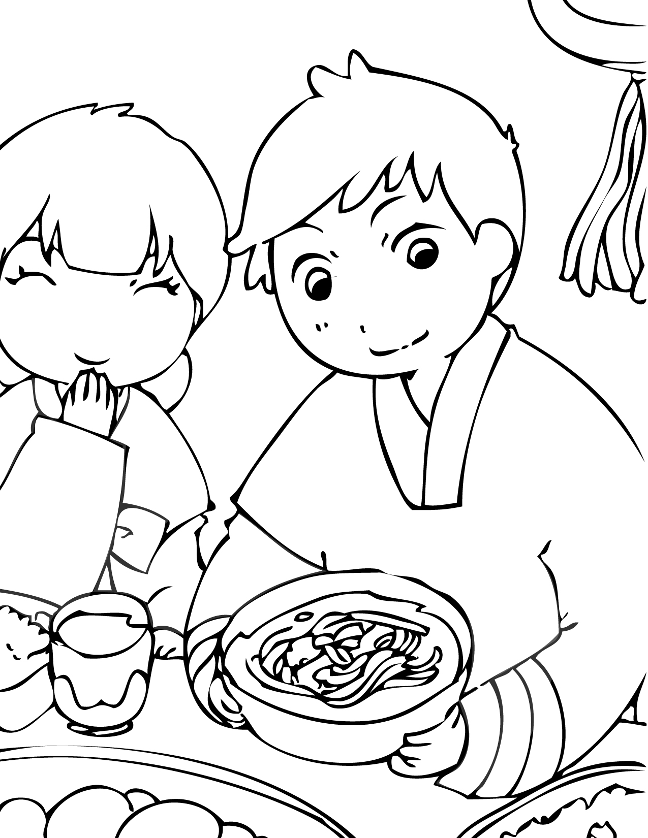 Chulseok Coloring Page