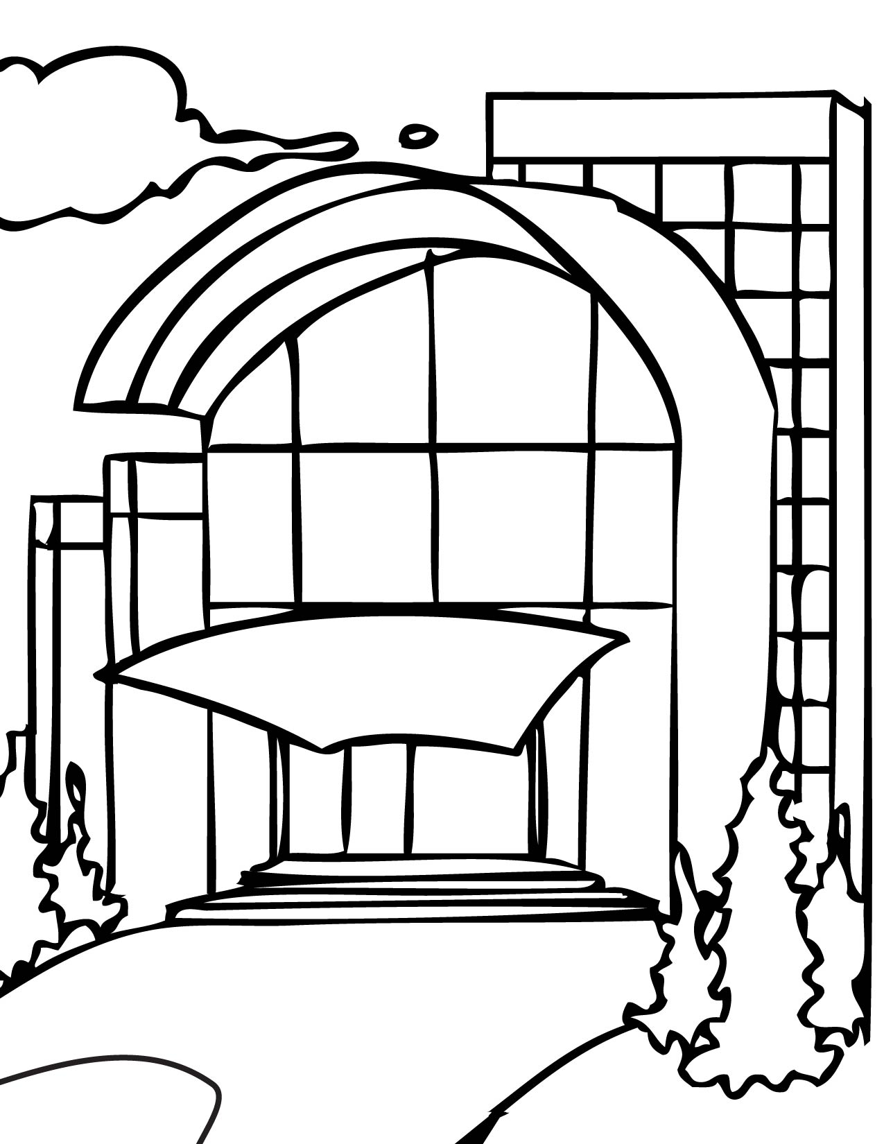 mall coloring pages - photo#6