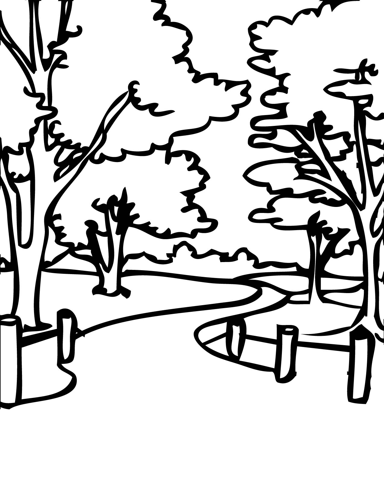 Free coloring pages of places in the community