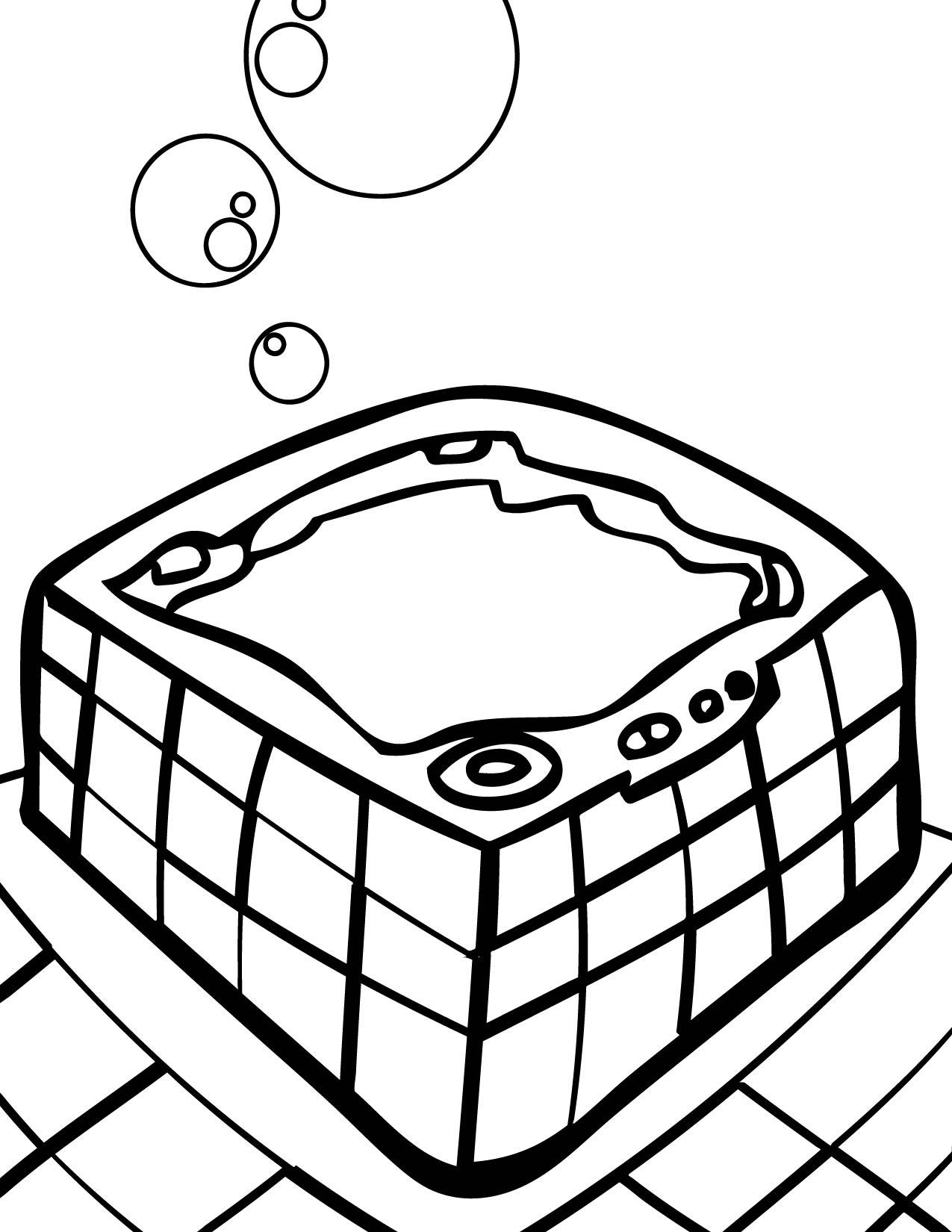 Hot Tub Drawings Hot Tub