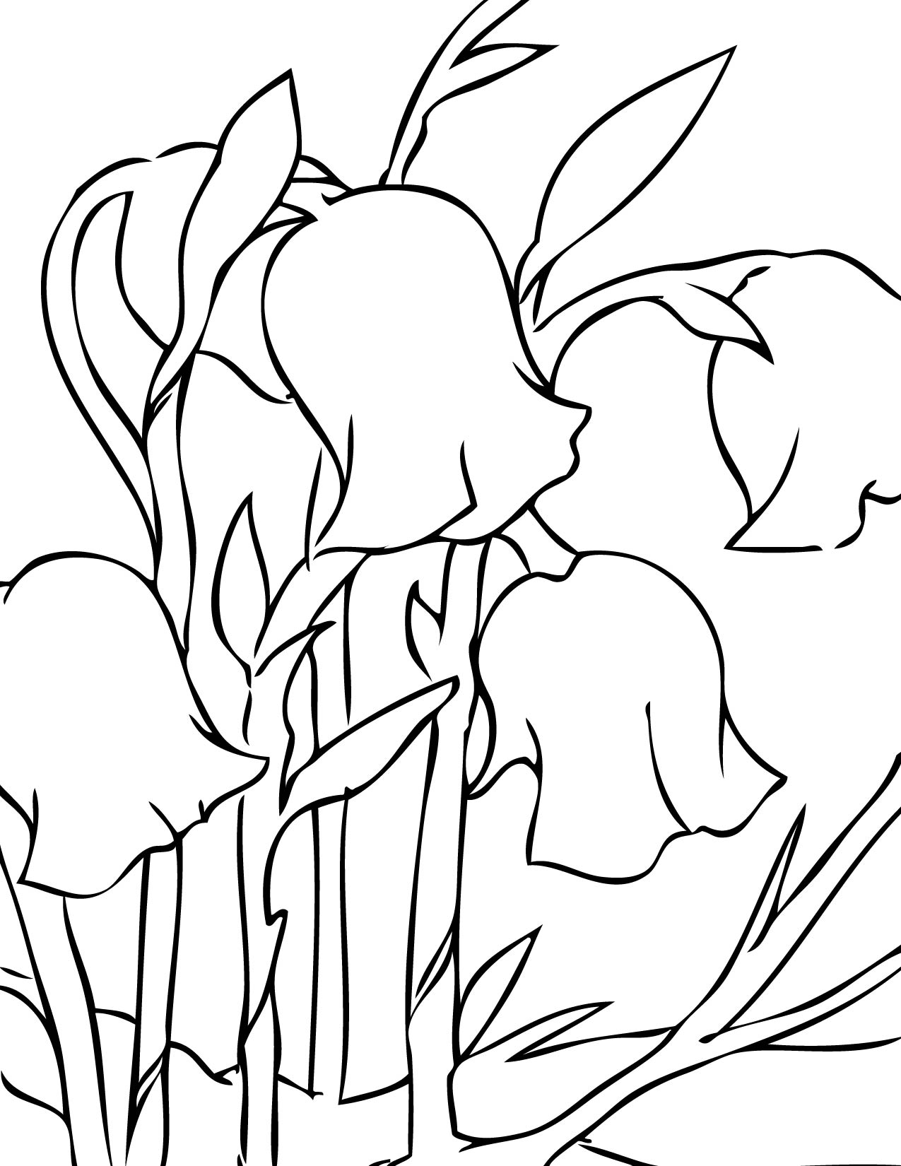 spring flowers coloring pages - handipoints - Coloring Pages Spring Flowers