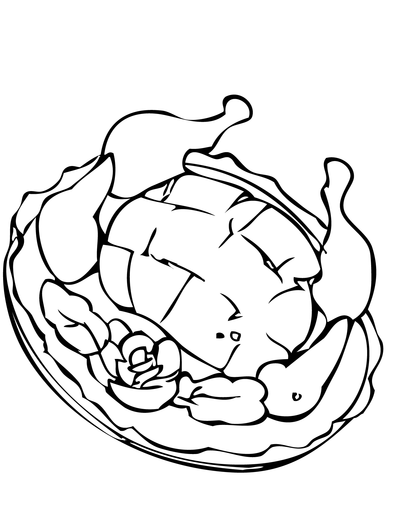 peking duck coloring page handipoints