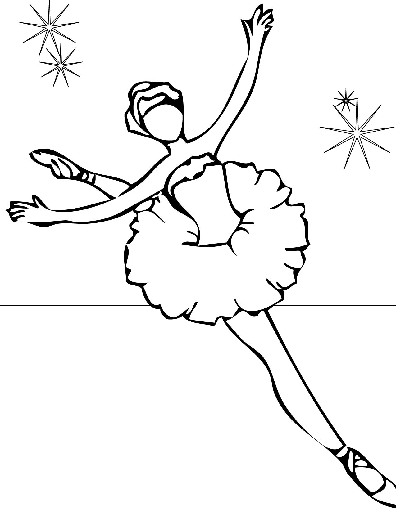 dancing coloring pages coloring pages ballet - Dance Coloring Pages