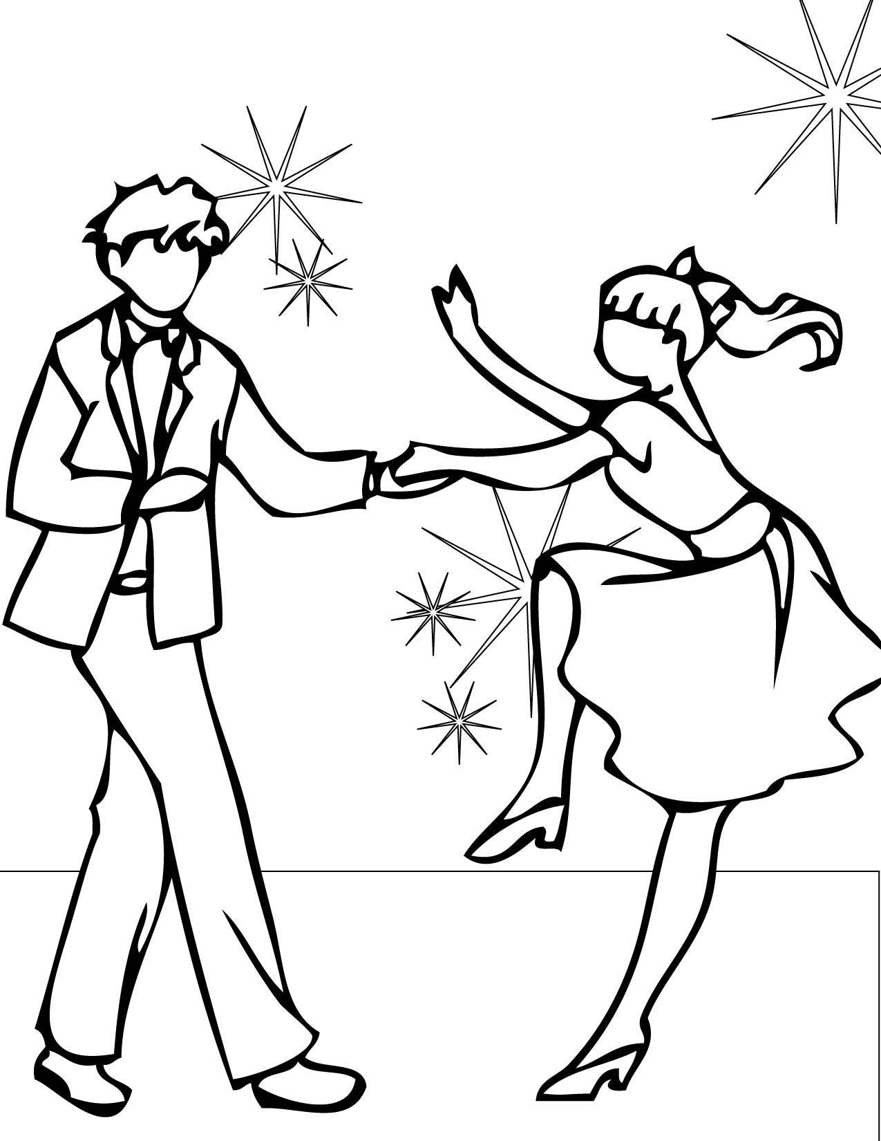Swing Coloring Page Handipoints