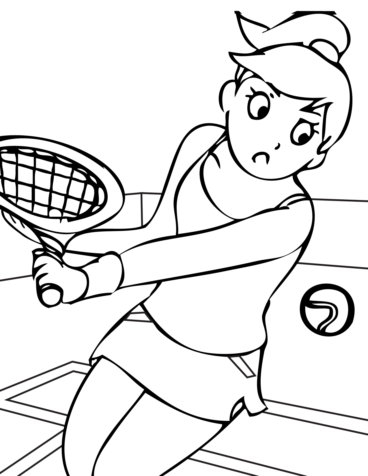 video sport 800 coloring pages - photo#21