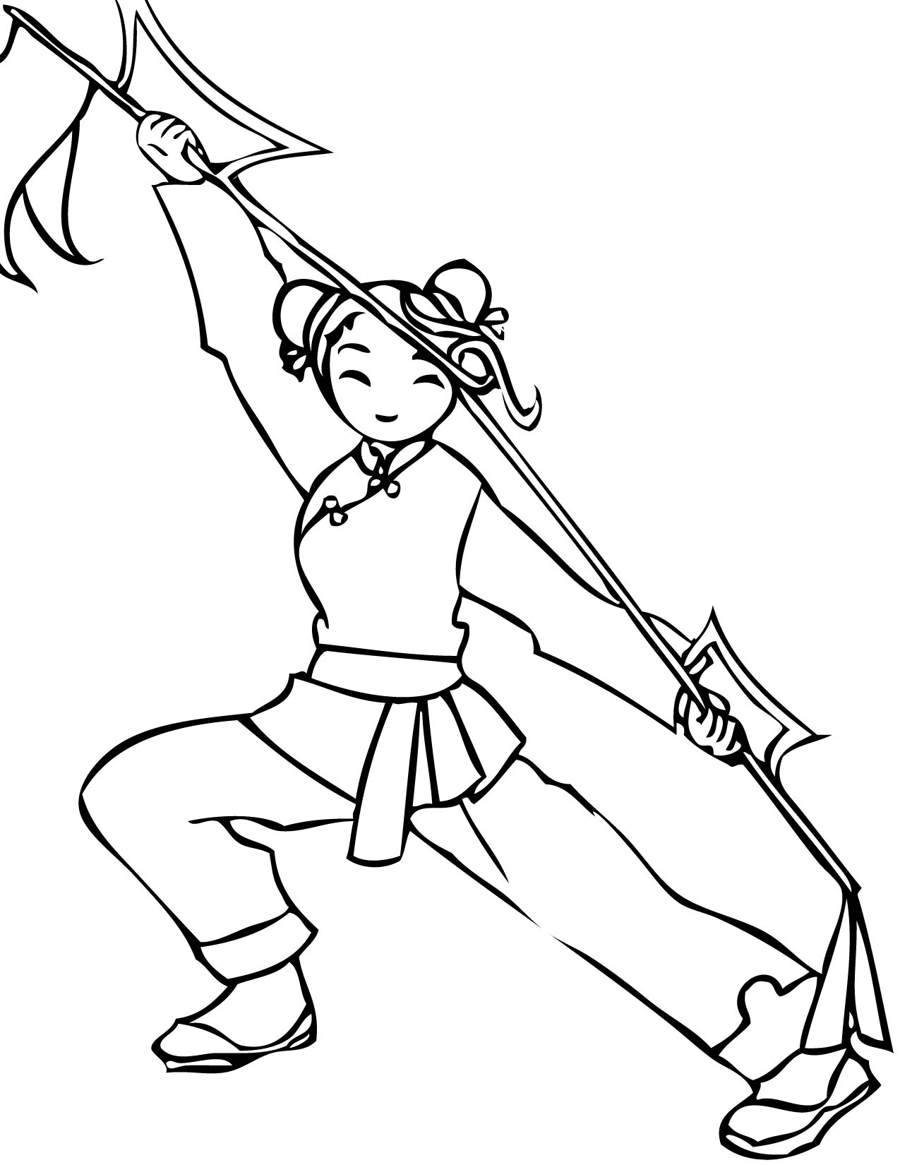 Holiday Coloring Pages Karate Page Print This Martial Arts