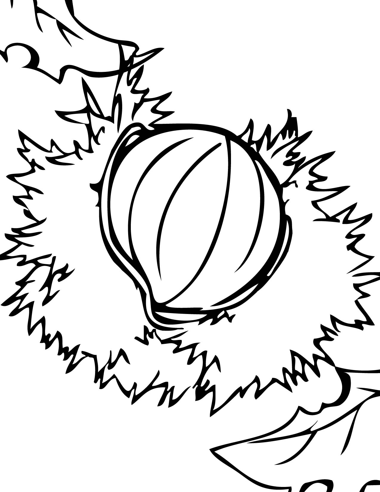 nuts coloring pages handipoints