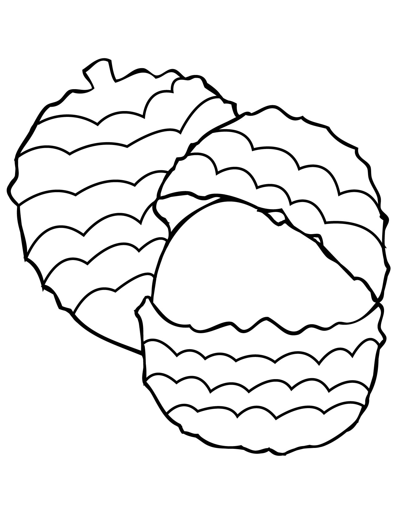 lychee coloring page handipoints