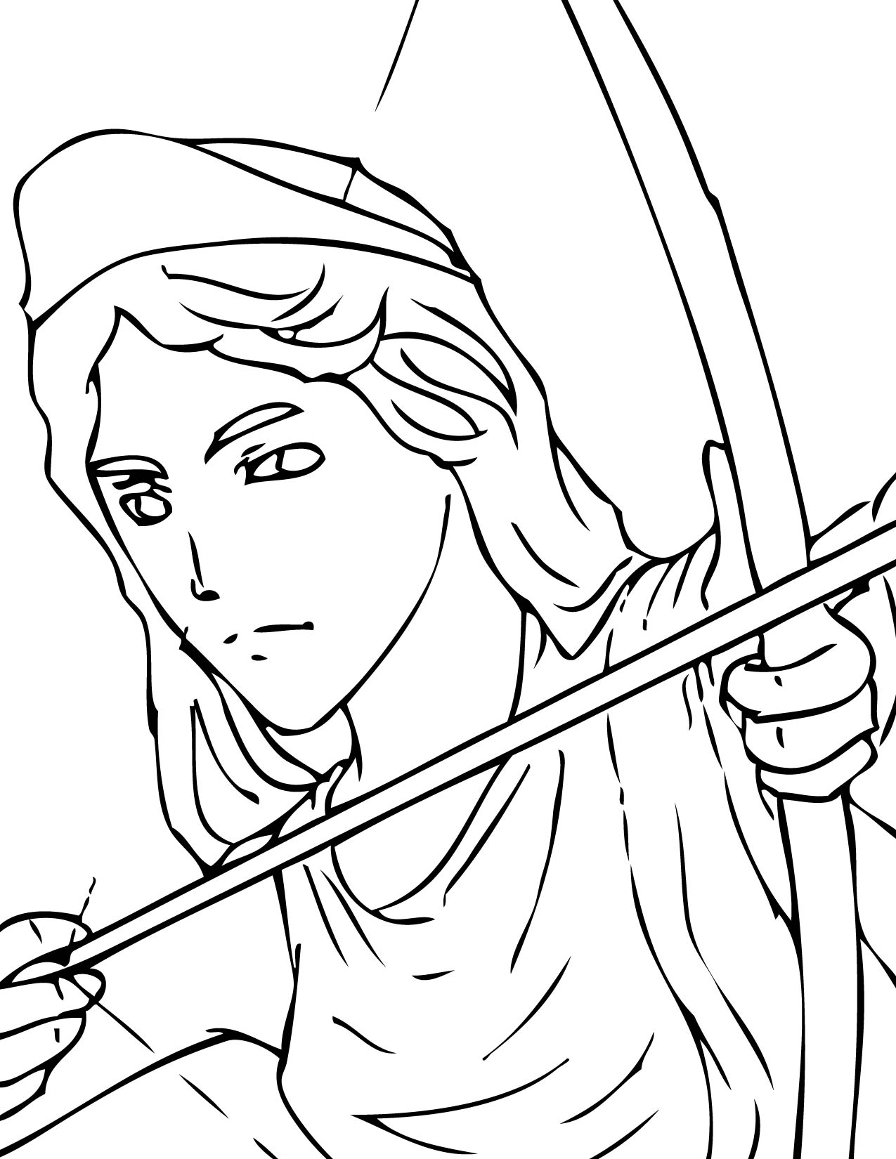 coloring pages online greek myths - photo#30
