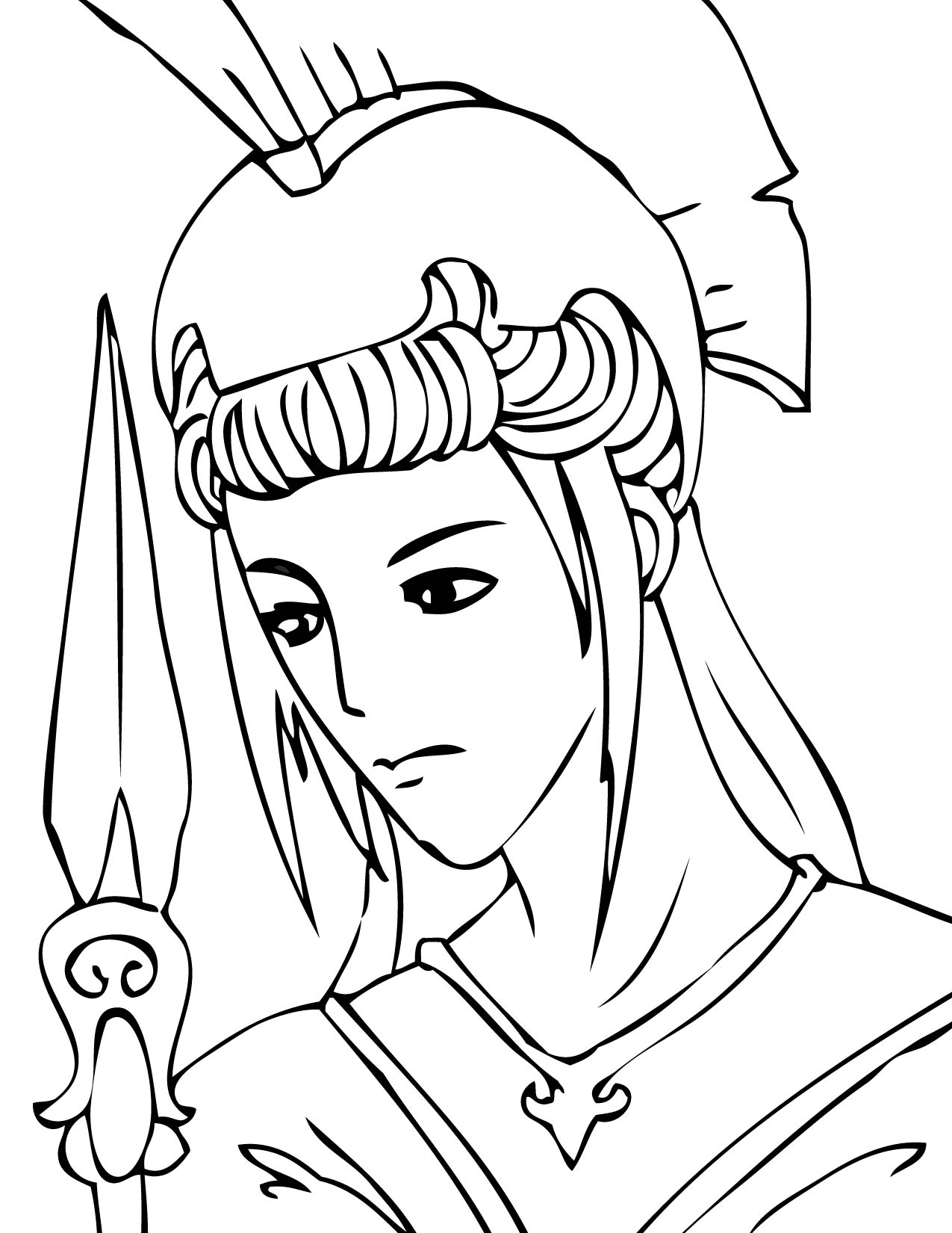 coloring pages online greek myths - photo#34
