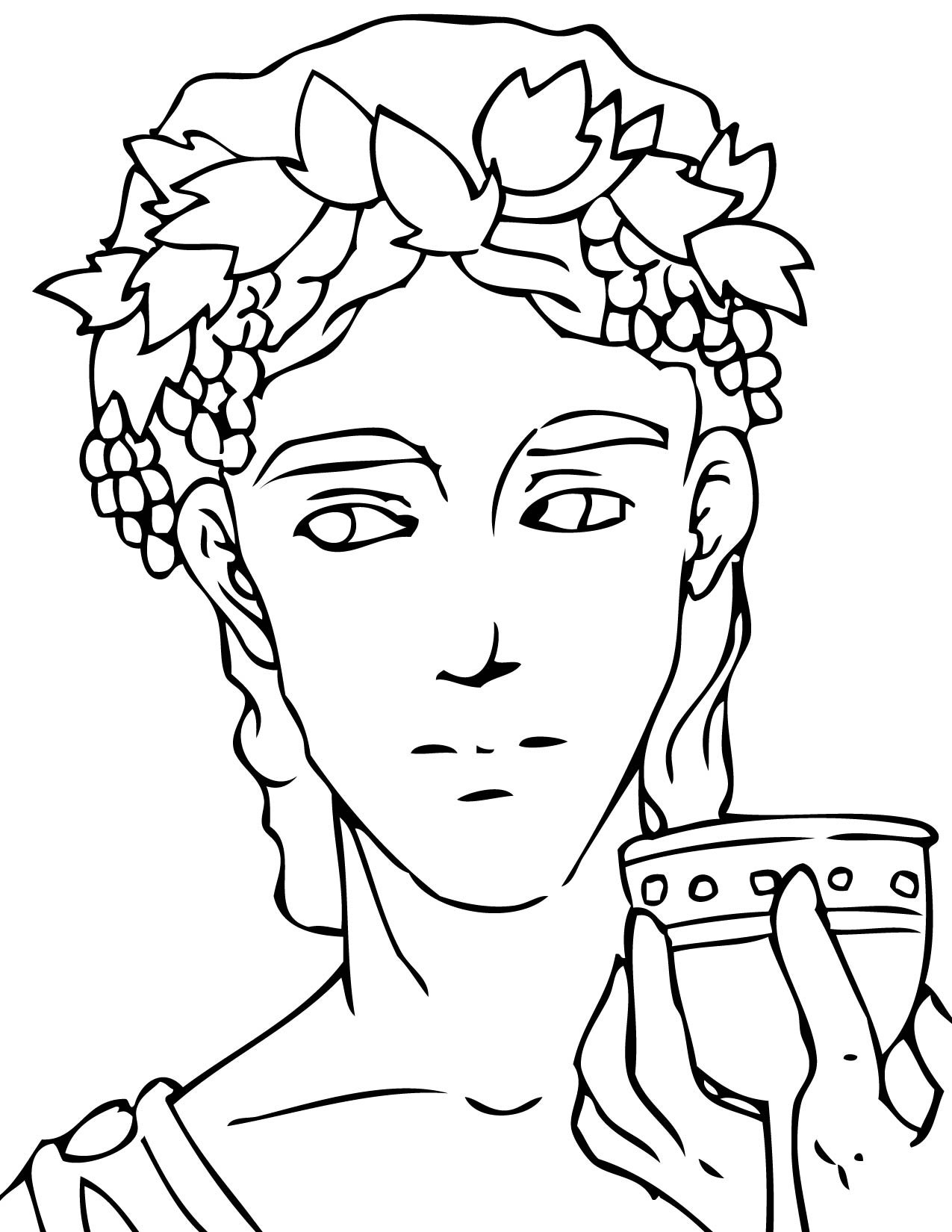 ancient greek coloring pages - photo#12